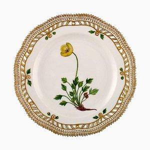 Royal Copenhagen Flora Danica Openwork Plate #20/3554, 1960s