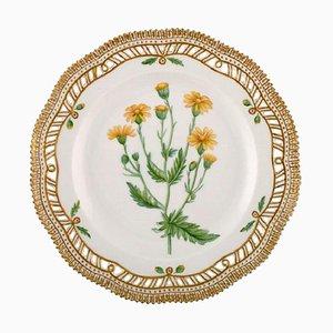 Royal Copenhagen Flora Danica Openwork Plate #20/3554, 1964
