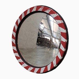 Vintage Industrial Convex Mirror