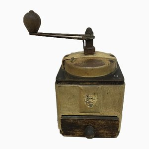 French Wooden Coffee Grinder from Peugeot