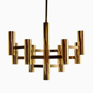 Chandelier by Gaetano Sciolari for Boulanger, 1970s
