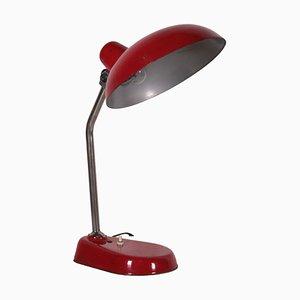 Stahl Tischlampe, Italien, 1950er