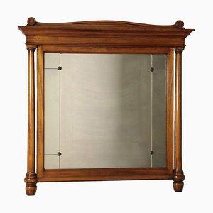 19th Century Italian Steel Mirror