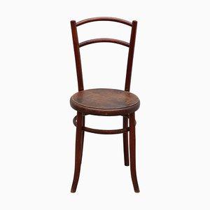 Antique Art Nouveau 'Bentwood Side Chair by D. G. Fischell for Fischel