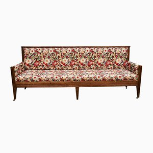 Vintage French Dining Sofa Bench, 1950s