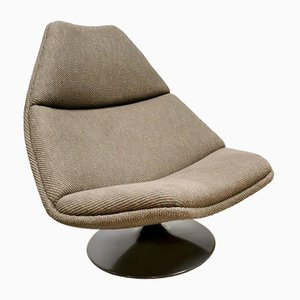 Vintage Model F588 Swivel Chair by Geoffrey Harcourt for Artifort, 1970s
