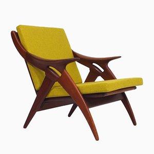 Teak Armchair from De Ster Gelderland, 1960s