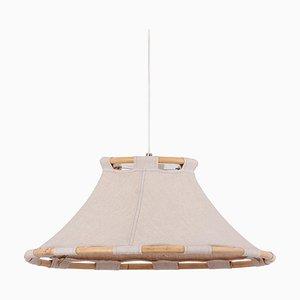 Scandinavian Modern Pendant Lamp by Anna Ahrens for Ateljé Lyktan, Sweden, 1970s