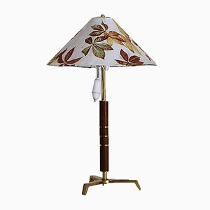 Mid-Century Tripod Table Lamp Attributed to J. T. Kalmar, 1950s