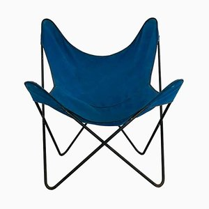 Vintage Butterfly Lounge Chair by Jorge Ferrari-Hardoy for Knoll Inc. / Knoll International, 1970s