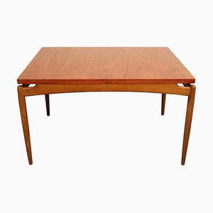 Extendible Teak and Oak Dining Table, 1960s