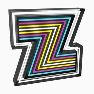 Buchstabe Z Graphic Lampe von DelightFULL