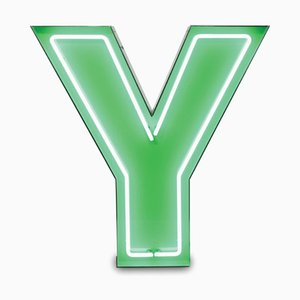 Letter Y Graphic Lamp by DelightFULL