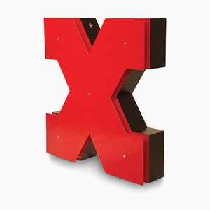 Letter X Graphic Lamp by DelightFULL