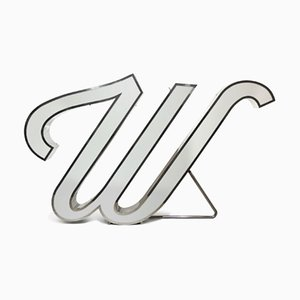 Letter W Graphic Lamp by DelightFULL
