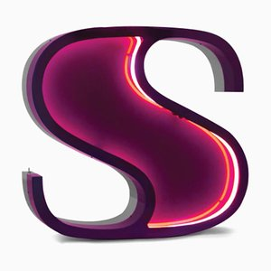 Letter S Graphic Lamp by DelightFULL