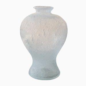 Mid-Century Pulegoso Murano Glass Vase from Seguso Vetri d'Arte