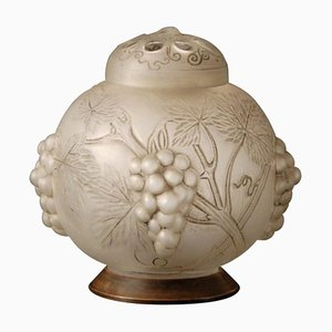 Model Raisins Perfume Burner by René Lalique, 1920s,