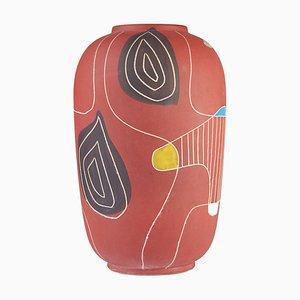 Vase Model Brasil par Bodo Mans pour Bay Keramik, 1950s