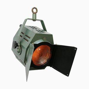Italienische Vintage Spotlampe aus Grünem Metall und Glas von IFF, 1970er