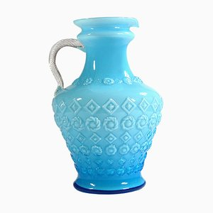 Italian Glass Vase from Empoli, 1950s