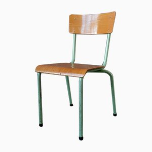 Vintage Industrial Dining Chair, 1960s
