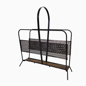 Model Harpers Magazine Rack by Mathieu Matégot for Atelier Matégot, 1950s