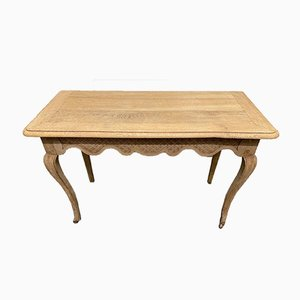 French Bleached Oak Console Tables, 1850s, Set of 2