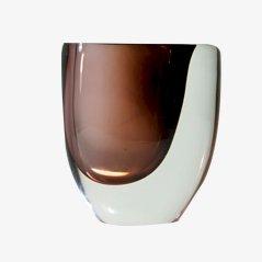Sommerso Vase von Vicke Lindstrand für Kosta, 1950er