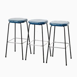 Mid-Century Bar Stools by Hein Salomonson for AP Originals, 1960s, Set of 3