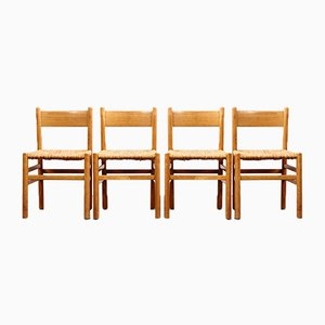 Mid-Century Dining Chairs by Johan van Heuvel for Ad Vorm, 1960s, Set of 4