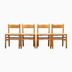 Mid-Century Esszimmerstühle von Johan van Heuvel für Ad Vorm, 1960er, 4er Set
