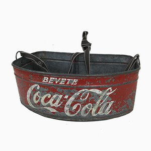 Italienischer Drink Coca-Cola Stadium Kühler, 1960er