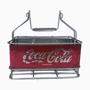 Italian Metal Drink Coca-Cola Stadium Cooler, 1960s