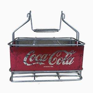 Italienischer Coca-Cola Stadionkühler aus Metall, 1960er