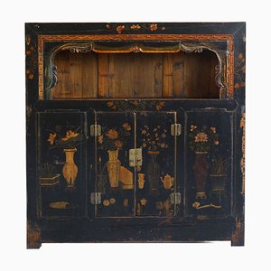 Chinese Qinghai Painted Display Cabinet