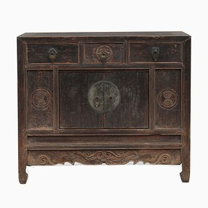Antique Chinese Shanxi Temple Cabinet