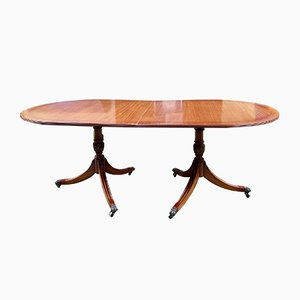 English Mahogany Dining Table, 1950s