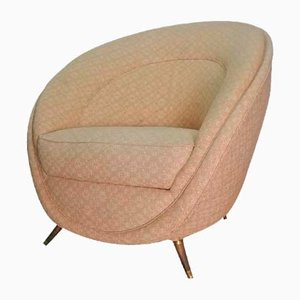 Mid-century Lounge Chair by Guglielmo Veronesi for Isa