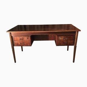Scandinavian Rosewood Desk, 1980s