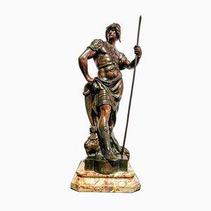Art Novueau Honneur Patrie Sculpture by Émile Louis Picault