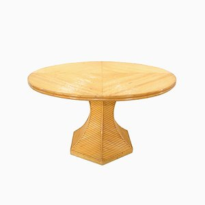 Bamboo Dining Table, 1970s