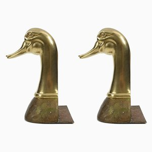 Brass Bookends, 1960s, Set of 2