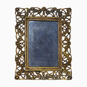 Vintage Silver Picture Frame, 1940s