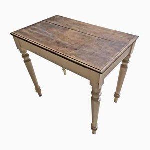 Tavolo da cucina antico in legno massiccio, Italia