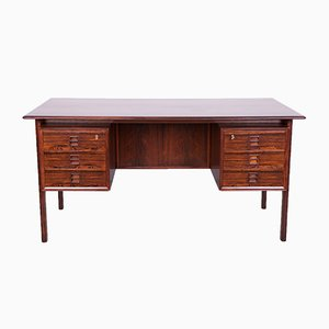 Dänischer Mid-Century Schreibtisch aus Palisander von Arne Vodder für Sibast, 1960er