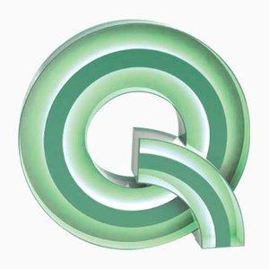 Buchstaben Q Graphic Lampe von DelightFULL
