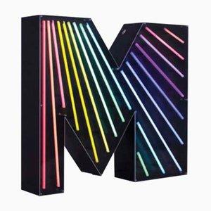 Buchstabe M Graphic Lampe von DelightFULL