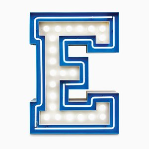 Letter E Graphic Lamp by DelightFULL
