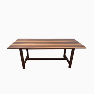 Vintage Solid Walnut Dining Table